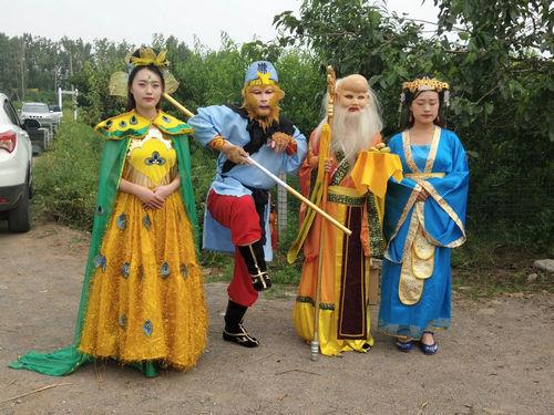 即墨:桃子熟了,美猴王邀市民共赴灵山蟠桃盛会